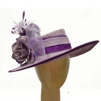 light dark purple hat