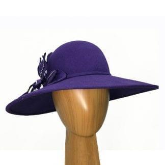 large-purple-wool-hat