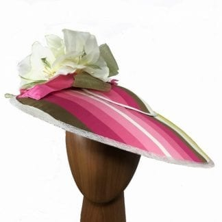 pink-striped-fabric-fascinator