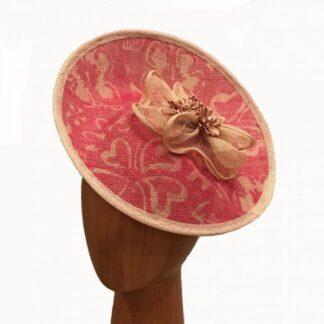 Rose Pink Fascinator
