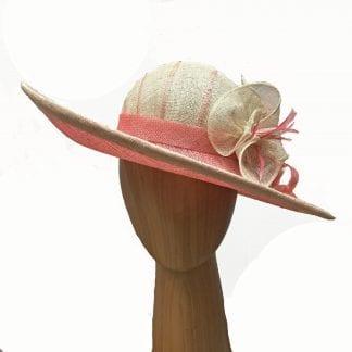 melon hat ivory