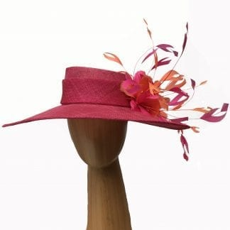 large-bright-pink-hat