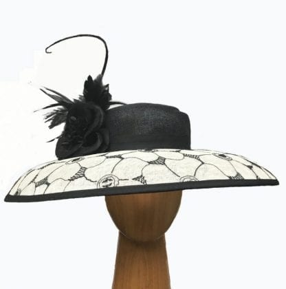 XLBlack Ivory hat