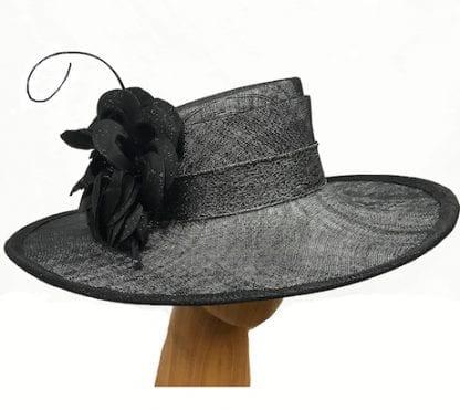 shimmering-black-dress-hat
