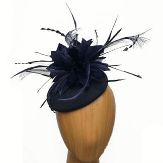 small navy hat
