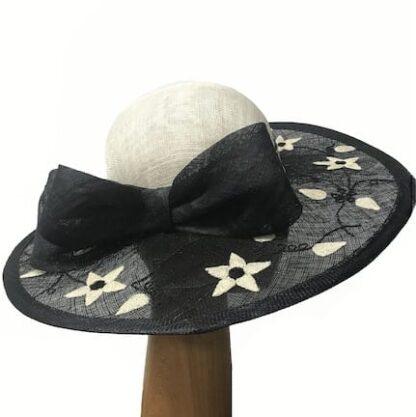 black ivory stars hat
