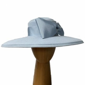 powder blue wool hat
