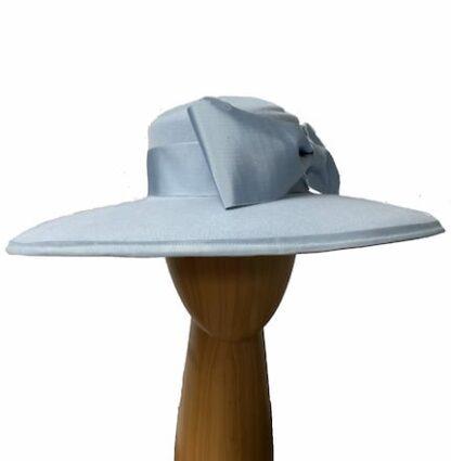 powder blue wool hat